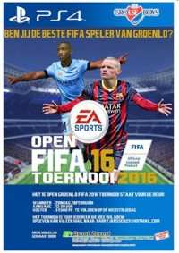Open FIFA 2016 PS4 toernooi