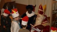 Sinterklaas bezoekt het Wilgenpark